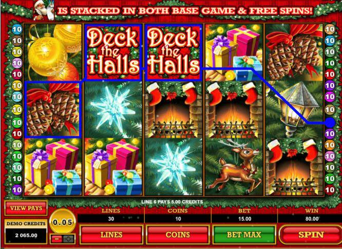 Free Christmas Casino Games